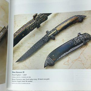 Accents - 500 Knives Book Celebrating Designs